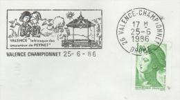 26  VALENCE  Le Kiosque Des Amoureux De Peynet  25/06/86 - Fumetti