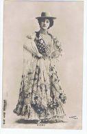 Caroline Otero, Artiste 1900 , Robe Espagnole Et Chapeau , Photo Reutlinger - Dance