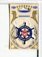 BRODERIE -   ECUSSON   -   A Appliquer -  Gouvernail  : Vendée -  Utrique  Fidelis -  NEM - Other