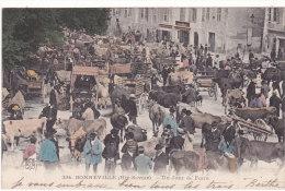 334.   BONNEVILLE  (Haute-Savoie).  -  Un  Jour  De  Foire - Bonneville