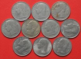 BELGIUM        10 COINS   -    (Nº02532) - Monedas & Billetes