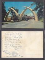 KENYA - MOMBASA -  Arches Of Tusks , Kilindin Road, - Kenya