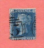GB SC #29 U PLT 8  (D,J), CV $40.00 - Used Stamps