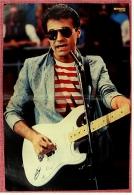 Kleines Poster  -  F. R. David  -  Rückseite : Bob Geldof  -  Von Bravo Ca. 1982 - Plakate & Poster