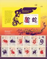 Christmas Island 2013 Zodiac Sheetlet  MNH - Christmas Island