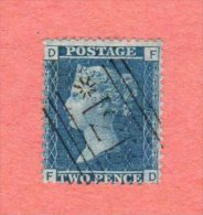 "GB SC #29 U PLT 9 (F,D)  ""171"", CV $12.50 - Used Stamps"