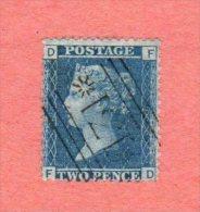 """GB SC #29 U PLT 9 (F,D)  """"171"""", CV $12.50 - 1840-1901 (Victoria)"""