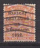 PGL BL0975 - IRLANDE IRELAND Yv N°4b - 1922 Governo Provvisorio