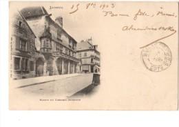 70----LUXEUIL--maison Du Cardinal Jouffroy--voir 2  Scans - Luxeuil Les Bains