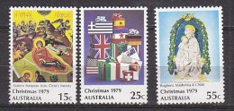 PGL X190 - AUSTRALIE Yv N°681/83 ** - 1966-79 Elizabeth II
