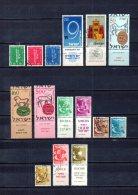 Israel   1957-58   .-  Y&T Nº   116/118 - 119 - 120 - 121/123 - 128/132 A - Israel