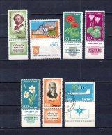 Israel   1959   .-  Y&T Nº   150 - 151 - 152/154 - 155 - 156 - Israel