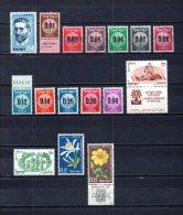 Israel   1959-60   .-  Y&T Nº   163 - 164/173 - 174/175 - 176/177 - Israel