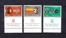 Israel   1964   .-  Y&T Nº   251/253   ** - Israel