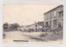 Meuse - Chattancourt - La Laiterie Cooperative Et Rue De Baley (nom Rayé = Censure Militaire ) - Otros Municipios