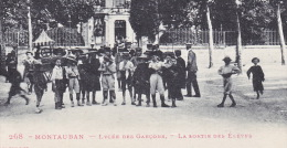CPA - 82 - MONTAUBAN - Lycée Des Garçons - La Sortie Des élèves - 268 - Montauban