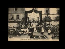 22 - LANVOLLON - Journée Eucharistique Du 5 Juin 1921 - Lanvollon