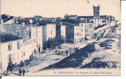 Les Remparts Et L'Eglise Saint Jacques - Perpignan