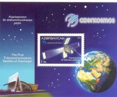 2013. The First Satellite Of Azerbaijan, S/s, Mint/** - Raumfahrt
