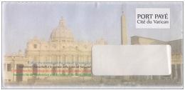 VATICANO  - Busta Postale PORT PAYE' - Postwaardestukken
