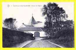 * Flexhe-le-haut-clocher (Liège - Luik - La Wallonie) * (SBP, Nr 6) Chemin De L'église, TOP CPA, Rare, Old, TOPKAART - Fexhe-le-Haut-Clocher