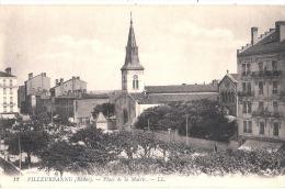 VILLEURBANNE Place De La Mairie Voyagé TTB - Villeurbanne