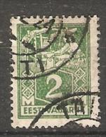 Estonia  1922  Weaver  2m (o) Mi.34 - Estonia