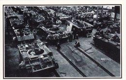 Postcard UK Munitions Factory Building Tanks For Russia 1941 WW2 Nostalgia - Equipment