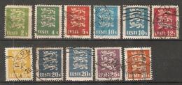 Estonia  1928-29  Arms (o) - Estonia