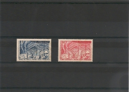 T.A.A.F Année 1957 N° Y/T 9/10** - Unused Stamps