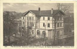 Fribourg Internat St-François De Sales Schönberg 37 - FR Fribourg