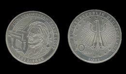 ALLEMAGNE . 10 EURO . Franz  LISZT . 2011 . - [10] Commemorative