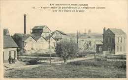 Dép 02 - Réf 52 - Hargicourt - Etablissements Kuhlmann - Exploitation De Phosphates - Vue De L´usine De Lavage - Autres Communes