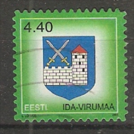 Estonia  2005  Town Crests: Ida-Virumaa  (o) Mi.??? - Estonie