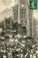 N°30740 -cpa St Paul -bénédiction Des Cloches- - France