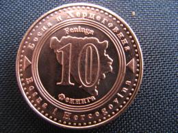 Coin 10 Feninga Bosnia And Hercegovina 2008 Unc - Bosnien-Herzegowina