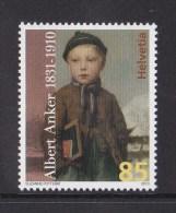 """Suisse N °2081** Neuf Sans Charniere """"portrait Albert Anker"""" - Switzerland"""