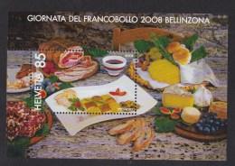 Suisse N °43 Bloc Feuillet ** Gastronomie Du Tessin - Blocs & Feuillets