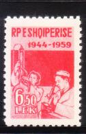 Albania 1959 Man & Woman In Laboratory MNH - Albania