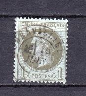 France - YT 25 Oblitéré - 1863-1870 Napoleon III With Laurels