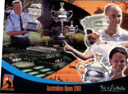 (543) Australia - Tennis Open 2001 - - Tennis