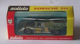 Porsche 917 Martini . Solido N° 186 . - Solido