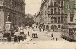 25 Besançon. Rue De La Madeleine. Tramway - Besancon