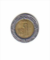MEXICO    1  NEW PESO  1994  (KM # 550) - Mexico