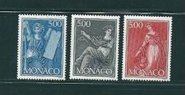 Monaco Timbres De 1989   N°1688 A 1690  Neuf ** Parfait - Neufs