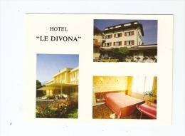 """CSM : 01 - Ain : Divonne Les Bains : Hôtel """" Le Divonna"""" : Multivues ( 3 ) : Bâtiment - Jardin - Chambre - Divonne Les Bains"""