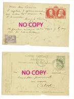Postcard - Postkaart  CARTE POSTALE POSTKAART 1905  Belgie Belgique 5c - Comp ALOST & Hoorebeke Sainte Marie - Unclassified