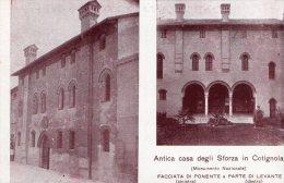[DC8598] COTIGNOLA (RAVENNA) - ANTICA CASA DEGLI SFORZA (MONUMENTO NAZIONALE - Ravenna