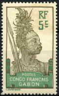 Gabon (1910) N 36 * (charniere)