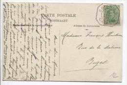 TP 137 S/CP Oblitération De Fortune Soignies Du 15/4/19 V.Buzet  PR203 - Postmark Collection